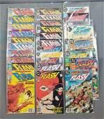 Group of 32 DC Comics The Flash comic books