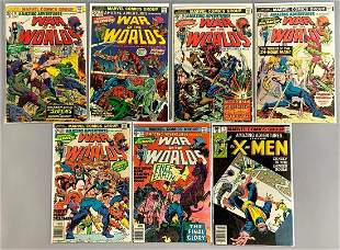 Group of 7 Marvel Comics Amazing Adventures Comic Books