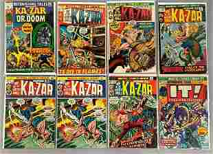 Group of 8 Marvel Comics Astonishing Tales Comic Books