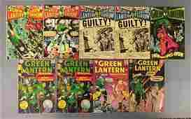 Group of 9 DC Comics Green Lantern Comic Books