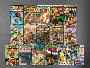 Group of 16 Marvel Comics Iron Man Comic Books