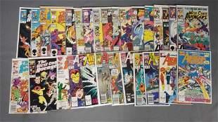 Group of 41 Marvel Comic Books