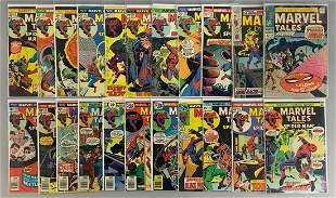Group of 22 Marvel Comics Marvel Tales Comic Books