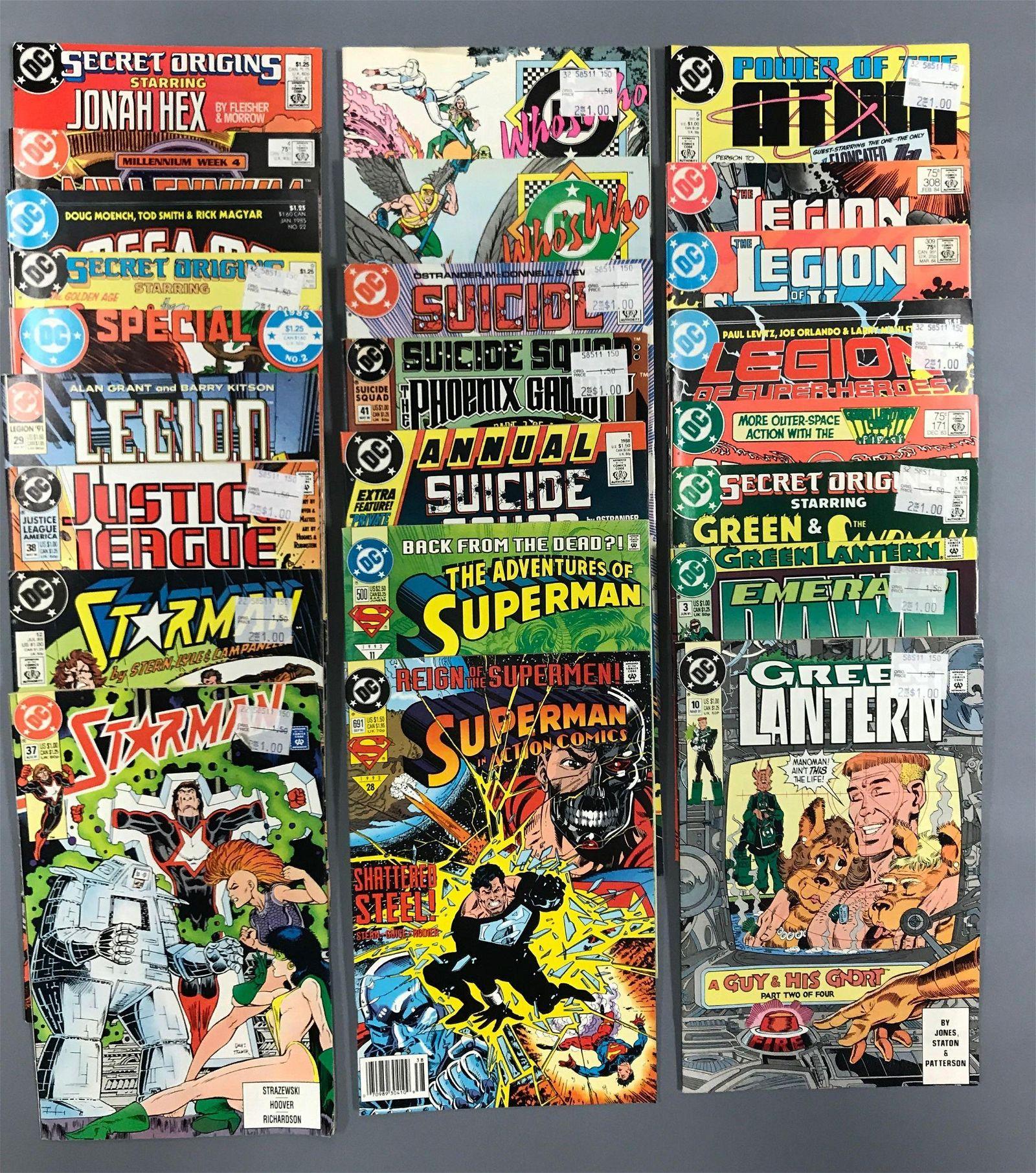 Group of 24 DC Comics Comic Books