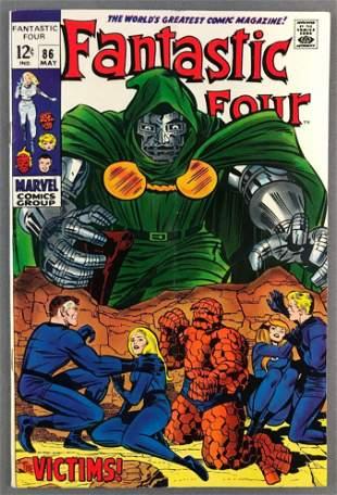 Marvel Comics Fantastic Four No. 86 Comic Book