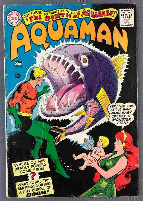 DC Comics Aquaman No. 23 Comic Book
