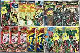 Group of 18 Assorted Comic Mostly Modern Comic Books