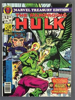 Marvel Comics Treasury Edition The Rampaging Hulk No.