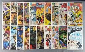 Group of 20 DC comic books