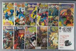 Group of 12 DC comic books