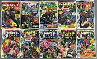 Group of 10 Marvel Comics Marvel Tales Starring