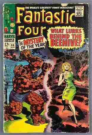 Marvel Comics Fantastic Four No. 66 Comic Book
