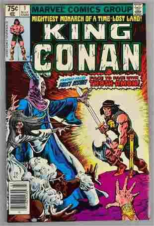 Marvel Comics King Conan No. 1 Comic Book