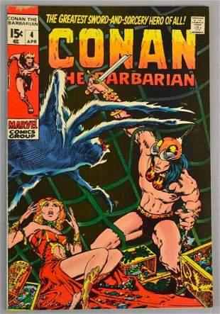 Marvel Comics Conan The Barbarian No. 4 Comic Book