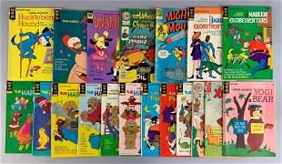 Group of 19 Gold Key Hanna Babera Comic Books