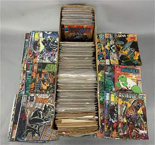 Long Box of Approximately 300 Comic Books