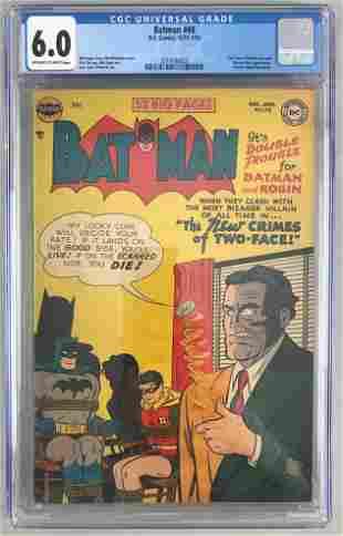 CGC Graded DC Comics Batman No. 68 Comic Book