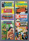 Group of 8 DC Comics comic books