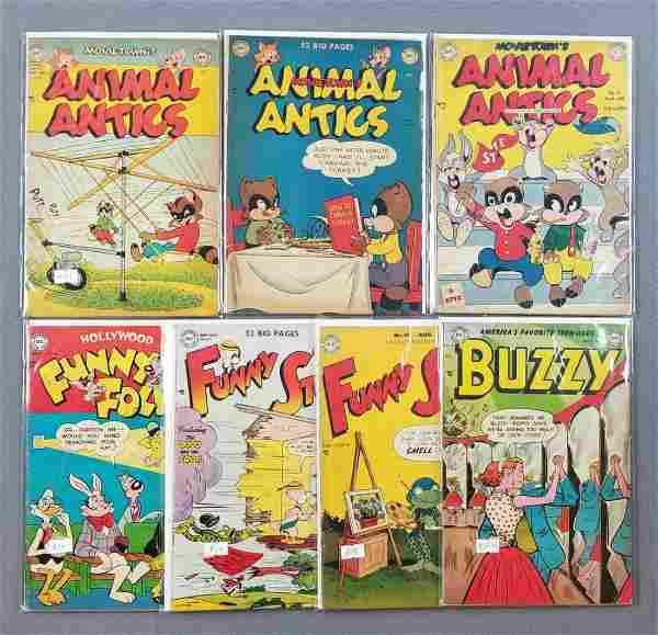 Group of 7 DC Comics comic books