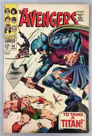 Marvel Comics Avengers no. 50 comic book