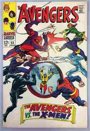 Marvel Comics Avengers no. 53 comic book
