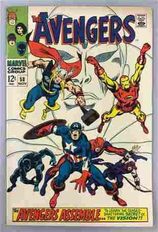 Marvel Comics Avengers no. 58 comic book