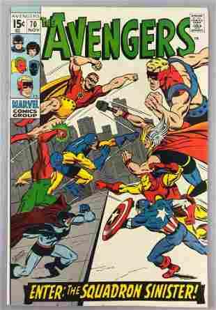 Marvel Comics Avengers no. 70 comic book