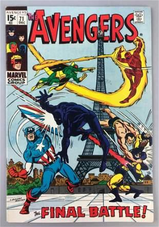 Marvel Comics Avengers no. 71 comic book