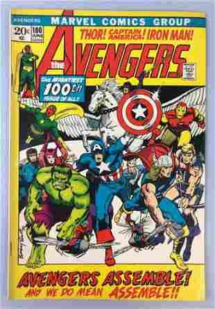 Marvel Comics Avengers no. 100 comic book