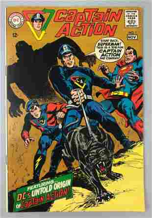 DC Comics Captain Action no. 1 comic book