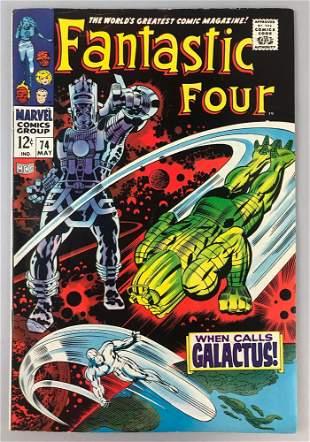 Marvel Comics Fantastic Four no. 74 comic book