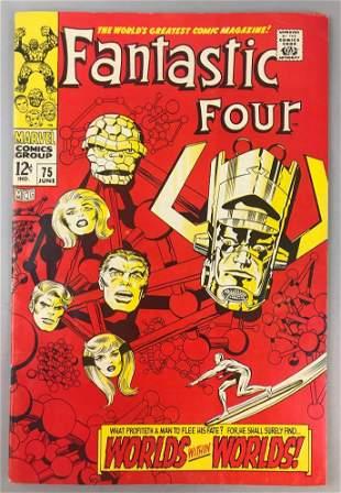 Marvel Comics Fantastic Four no. 75 comic book