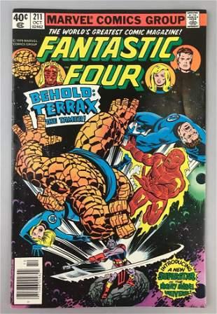Marvel Comics Fantastic Four no. 211 comic book