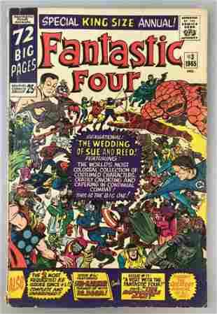 Marvel Comics Fantastic Four Annual no. 3 comic book