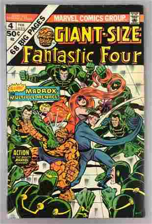 Marvel Comics Fantastic Four Giant-Size  no. 4 comic