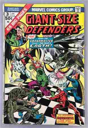 Marvel Comics Giant-Size Defenders no.  3 comic book