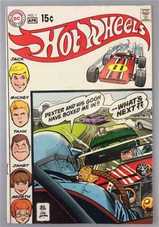 Marvel Comics  Hot Wheels no. 1 comic book