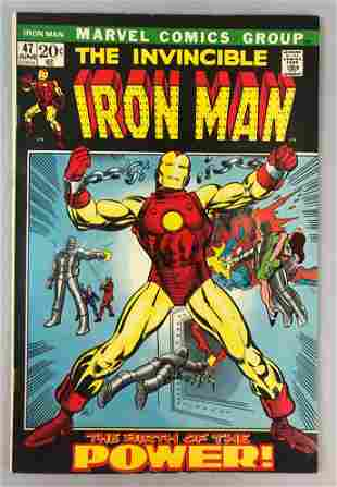 Marvel Comics Iron Man no. 47 comic book