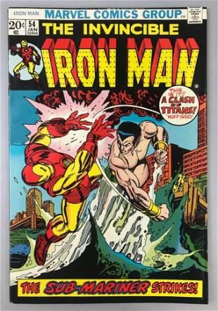Marvel Comics Iron Man no. 54 comic book
