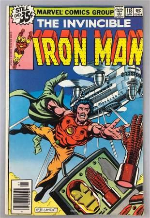 Marvel Comics Iron Man no. 118 comic book