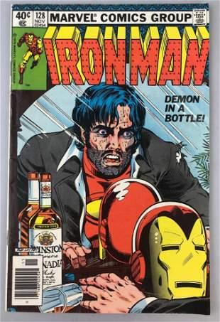 Marvel Comics  Iron Man no. 128 comic book