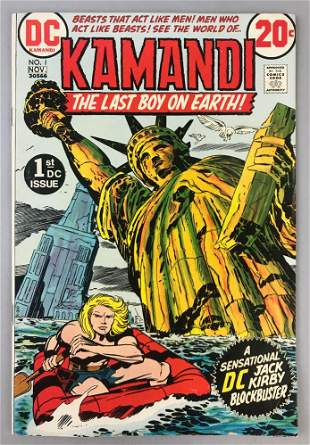DC Comics  Kamandi no. 1 comic book