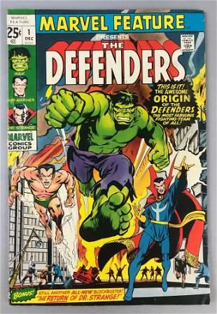 Marvel Comics  Marvel Feature, The Defenders no. 1