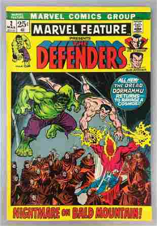 Marvel Comics  Marvel Feature, The Defenders no. 2