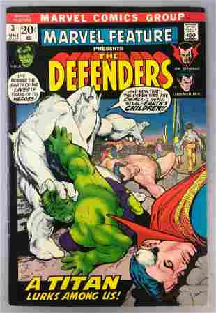 Marvel Comics  Marvel Feature, The Defenders no. 3