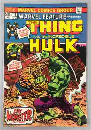 Marvel Comics  Marvel Feature, The Thing no. 11 comic
