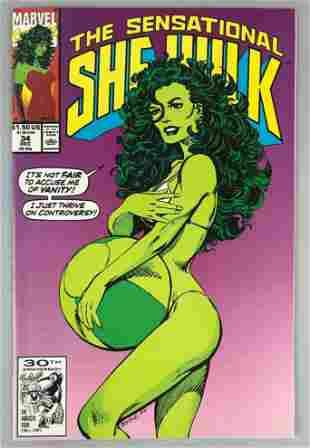 Marvel Comics Sensational She Hulk no. 34 comic book