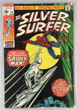Marvel Comics Silver Surfer no. 15 comic book