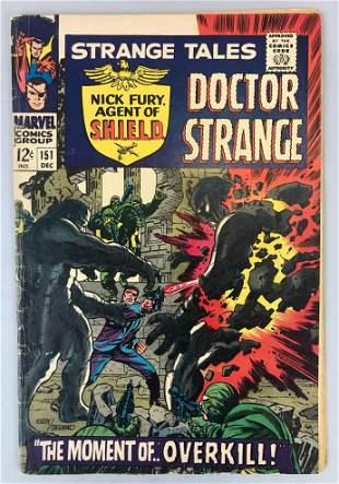 Marvel Comics Strange Tales no. 151 comic book
