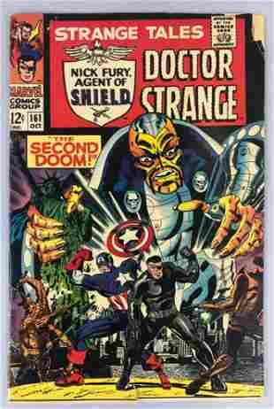 Marvel Comics Strange Tales no. 161 comic book